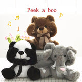 Special Edition Peek-A-Boo Plush Panda/Elephant/Teddy Bear - Limited Supplies