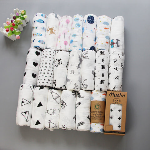 Pure Cotton Baby Wraps
