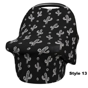 4in1 Nursing Cover, Car Seat Canopy, Shopping Cart, High Chair - Multi-functional Cover For Baby