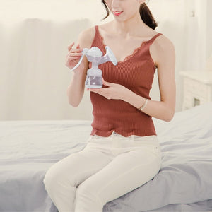 Large Manual Breast Feeding Pump and Bottle