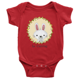 Baby Onesie - Be Curious Rabbit