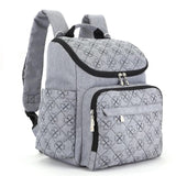 Mummy Fashion Nappy Bag - Diaper Backpack For Baby Stroller