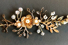 "The ""Flower Power"" Gold Headpiece"