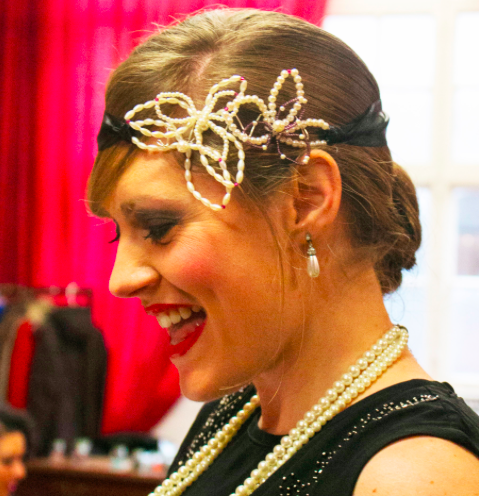 A Great Gatsby Inspired 1920's headpiece Workshop