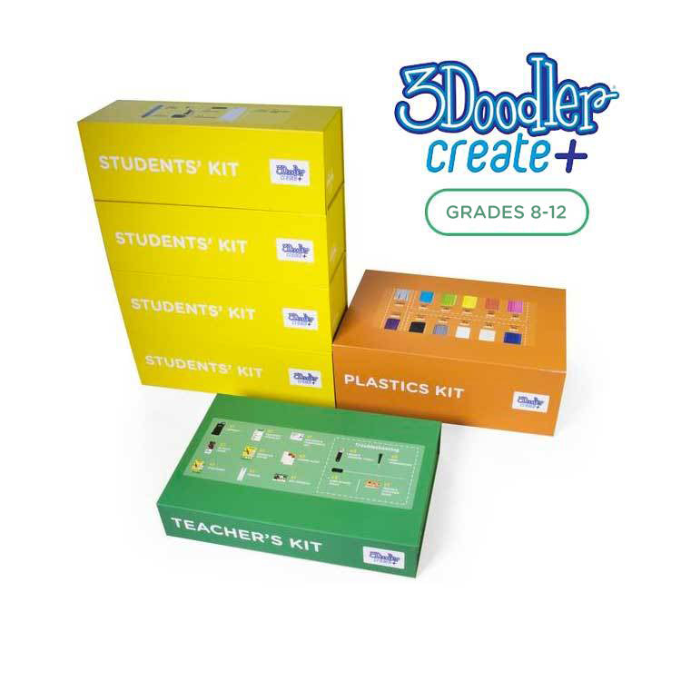 3Doodler EDU Create+ Learning Pack, 12 Pens