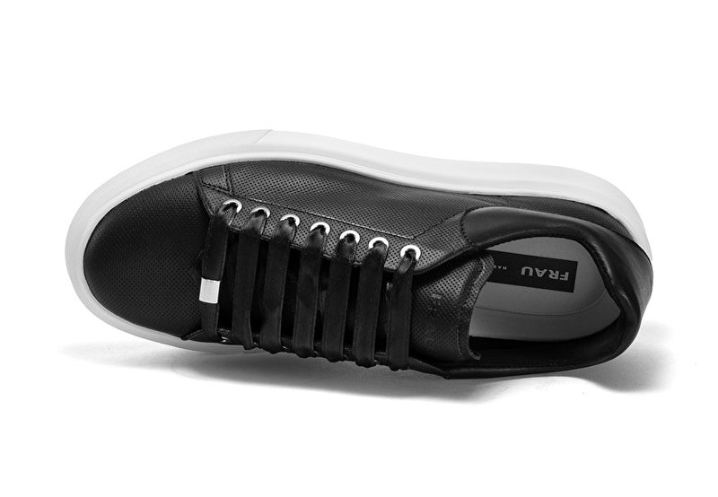 Sneakers Leather Black - Frau Shoes | IN ITALY