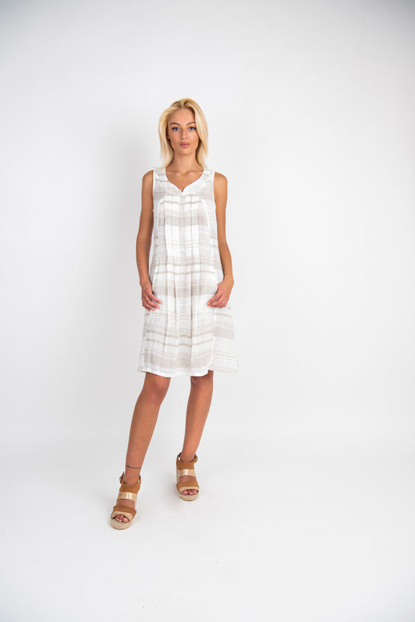 Pure Linen dress Bonarda - Marilu Moda