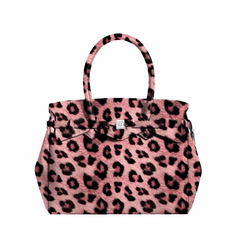 Miss Plus Leopard Pink Handbag - Save My Bag