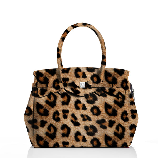 Miss Plus Leopard Handbag - Save My Bag