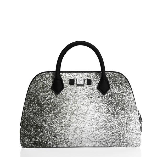Princess Midi Laminated Silver  Handbag - Save My Bag