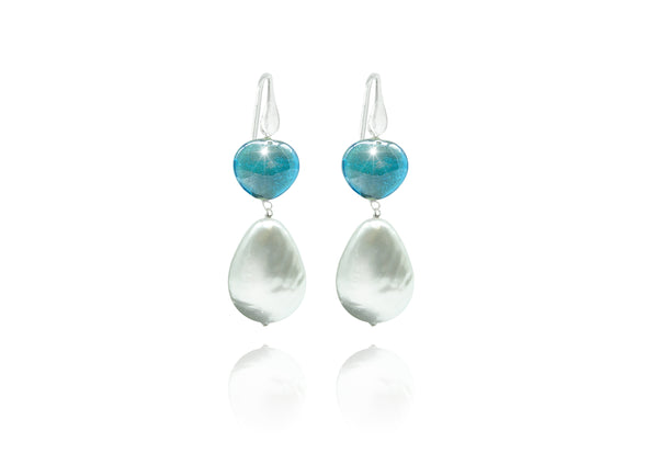Murano Glass Earrings Basic Degas - Dami&Tolo | IN ITALY