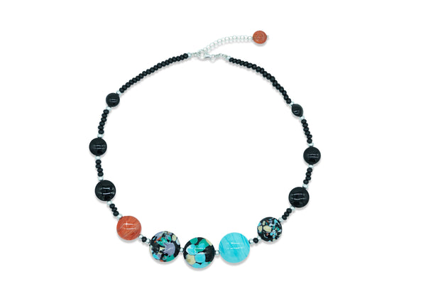 Murano Glass Necklace Basic Pollock - Dami&Tolo | IN ITALY