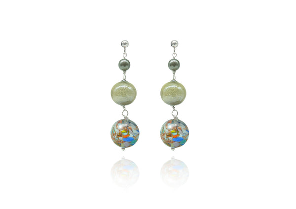 Murano Glass Earrings Top Renoir - Dami&Tolo | IN ITALY