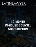 8-month In-house Counsel Subscription