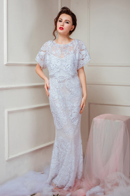 Heavenly Garden MARIGOLD Long Evening Dress
