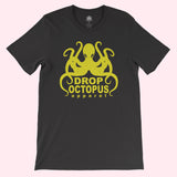 "Guys ""Drop Octopus Logo"" T-Shirt"