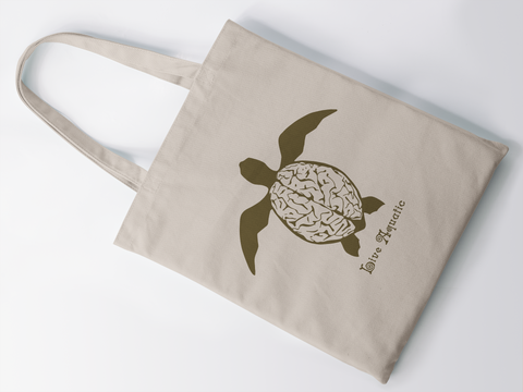 """Live Aquatic"" Tote Bag"