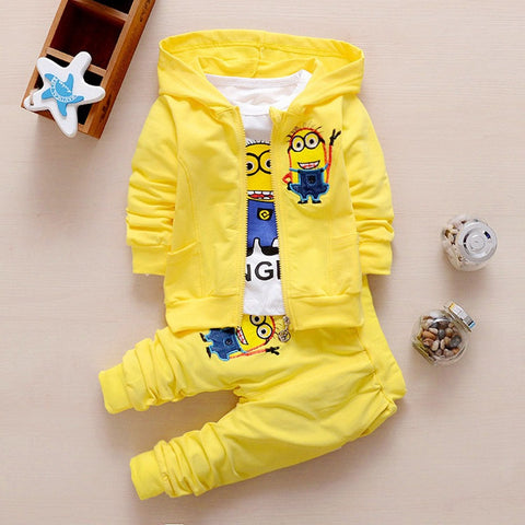 Despicable Me Minion Clothing Set