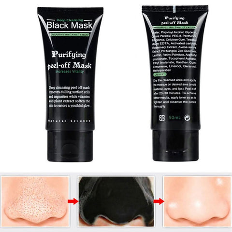 Blackhead Remove Facial Masks Deep Cleansing Purifying Peel Off Mask
