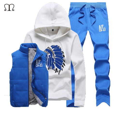 Winter Design 3pcs Tracksuit