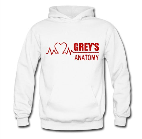 Grey's Anatomy Fleece Hoodie