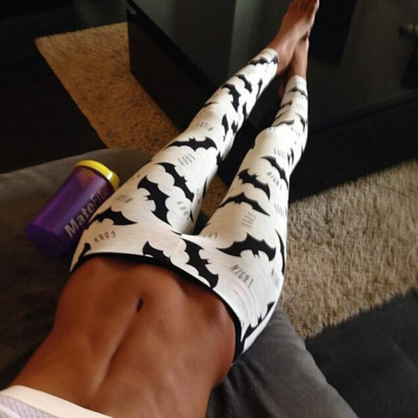 Hot Sale! Digital Batman Print Leggings