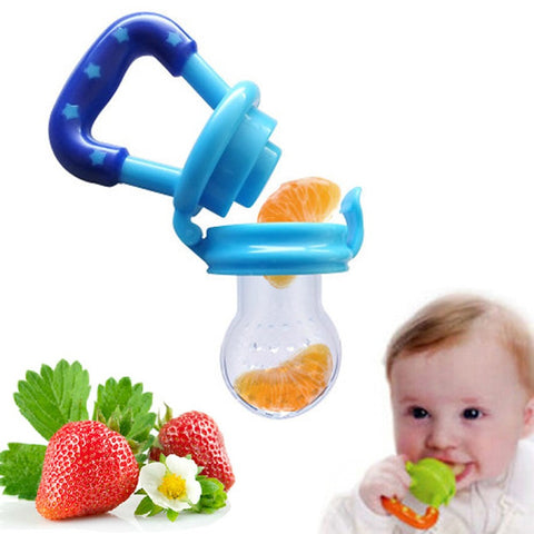 Portable Silicone Infant Food Feeder