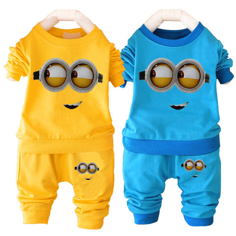 Despicable Me Minion Toddlers Clothing Set