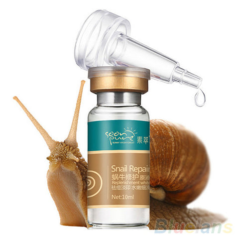 10ml Whitening Blemish Serum Anti-Acne Rejuvenated Snail Hyaluronic Acid Liquid