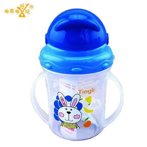Durable Kids Straw Drinking Bottle