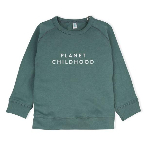 Sweatshirt Green Planet Childhood