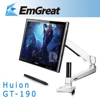 "Huion GT-190 19"" Professional LCD Graphic Drawing Pad Digital Tablet Board USB Pen+Steel Fold Stand"