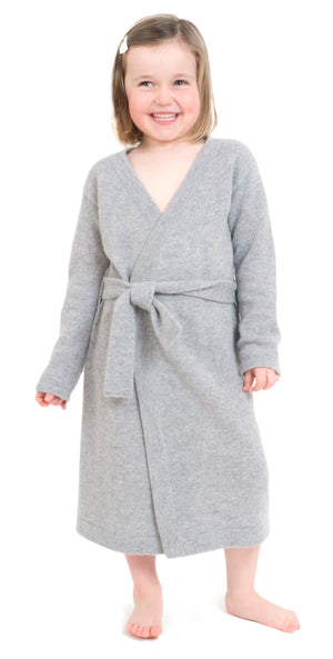 cashmere robe for kids