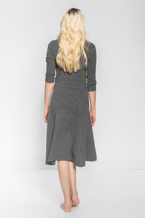 Cashmeren dress Bella in 100% cashmere by Kashmina