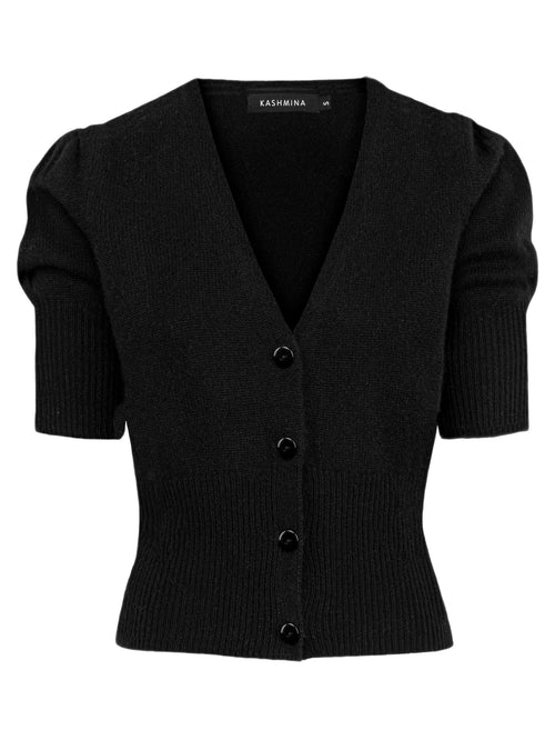 Cashmere cardigan Grace in 100% cashmere by Kashmina