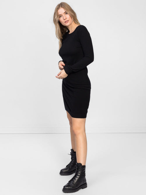 cashmere dress in 100% cashmere by Kashmina