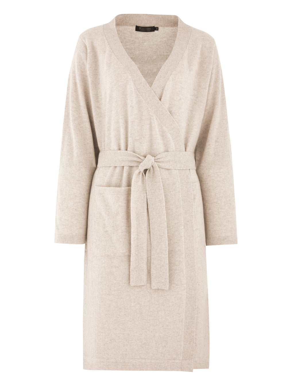 Cashmere robe Classic in 100% cashmere by Kashmina