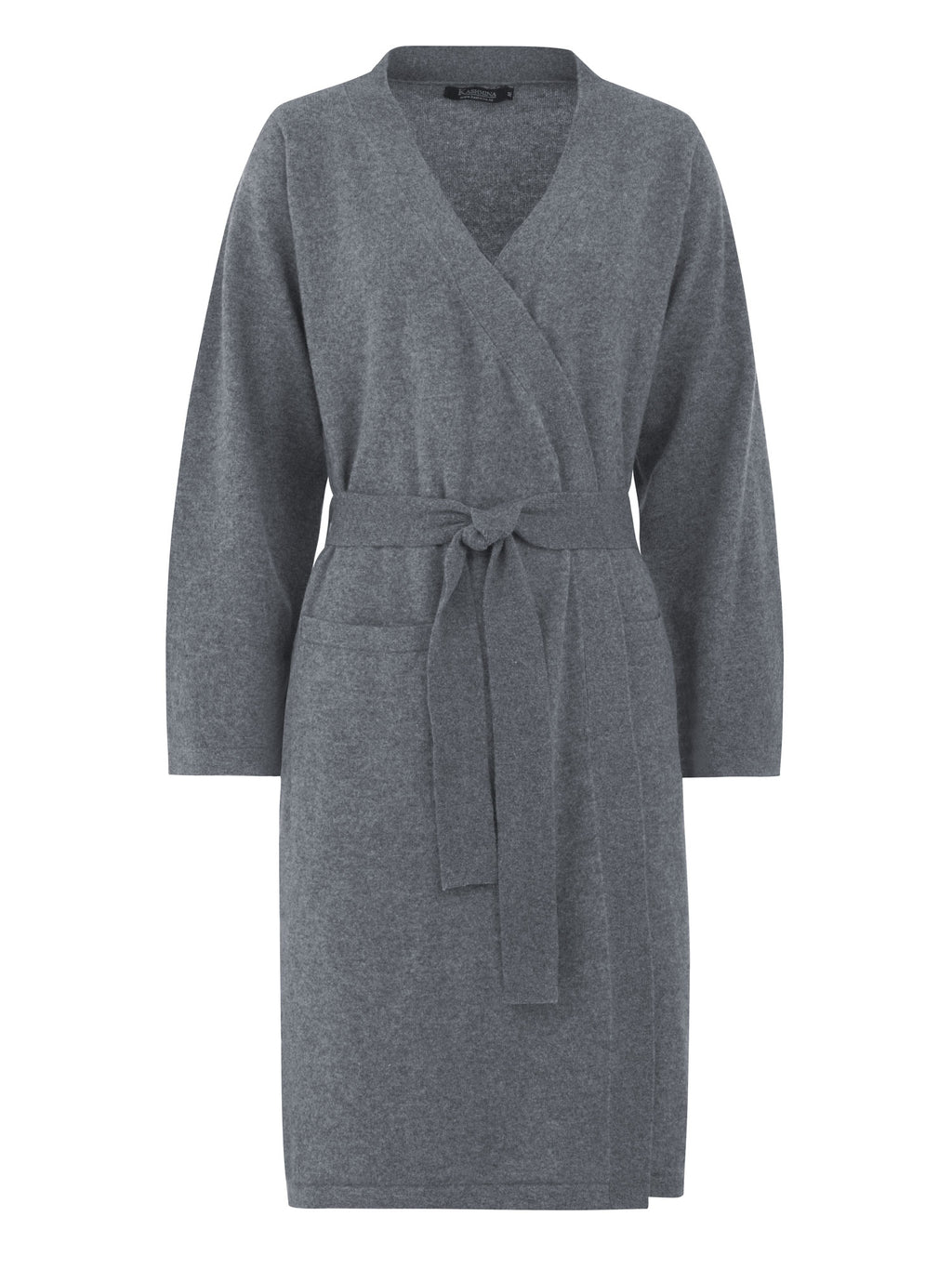 Morning robe Classic in 100% cashmere by Kashmina