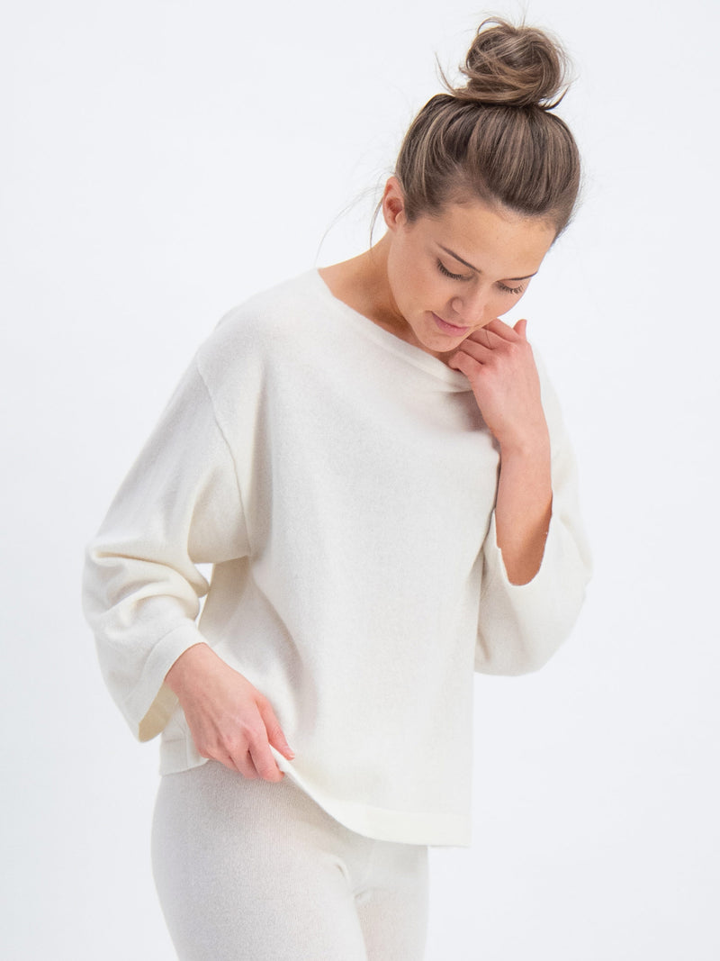 cashmere sweater flash in 100% cashmere by Kashmina