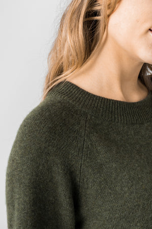 cashmere sweater Jannike in 100% cashmere by Kashmina