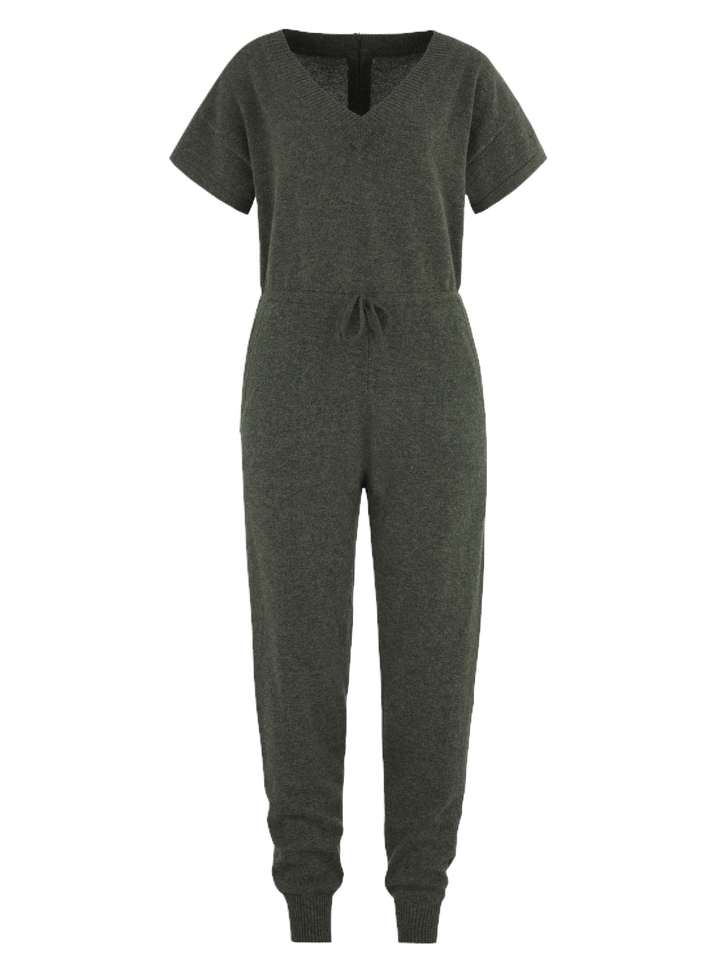 Cashmere jumpsuit in 100% cashmere by Kashmina