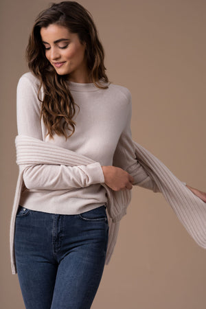 Cashmere sweater Chic in 100% cashmere by Kashmina