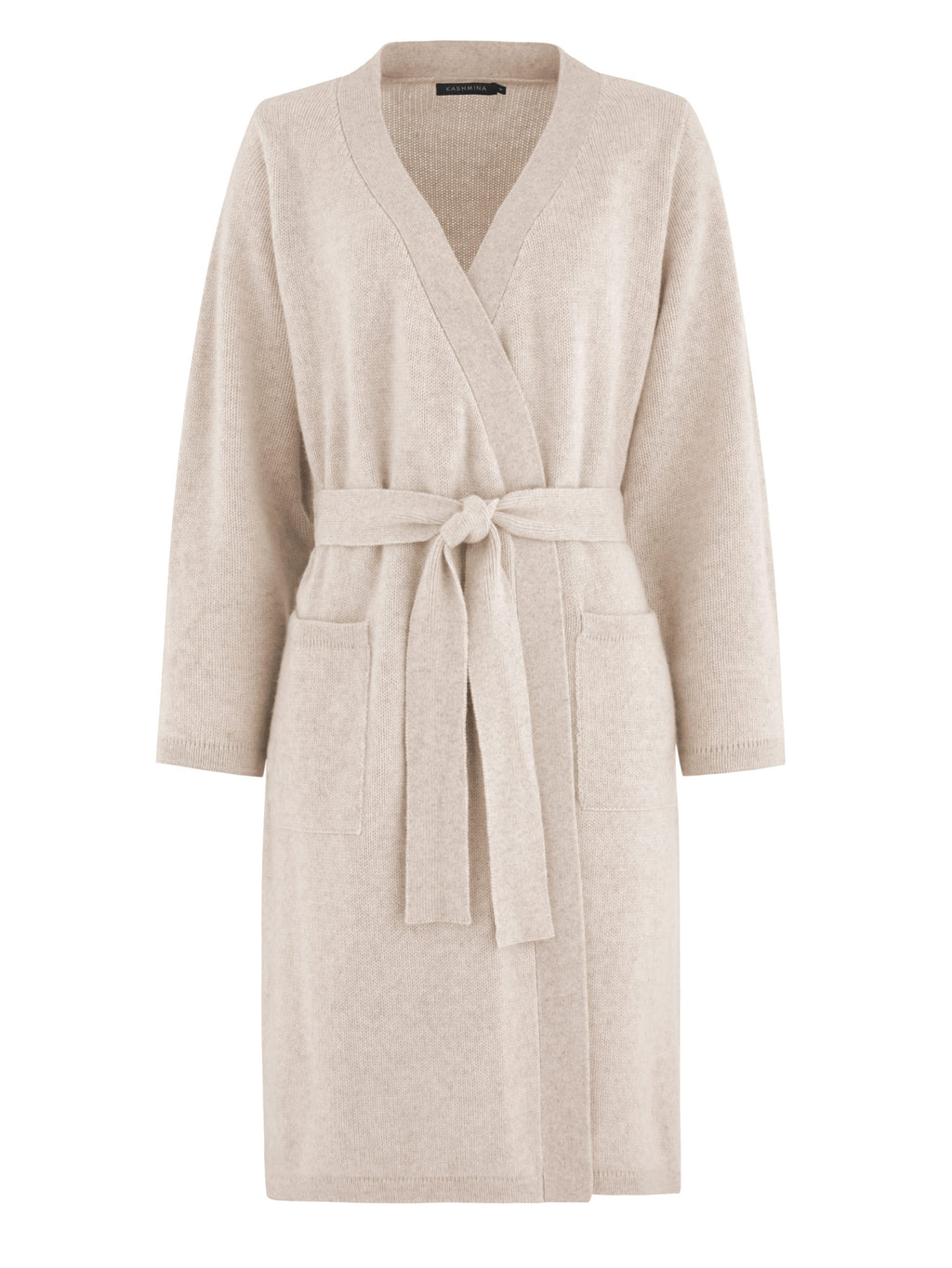 cashmere robe Lux in 100%cashmere by Kashmina