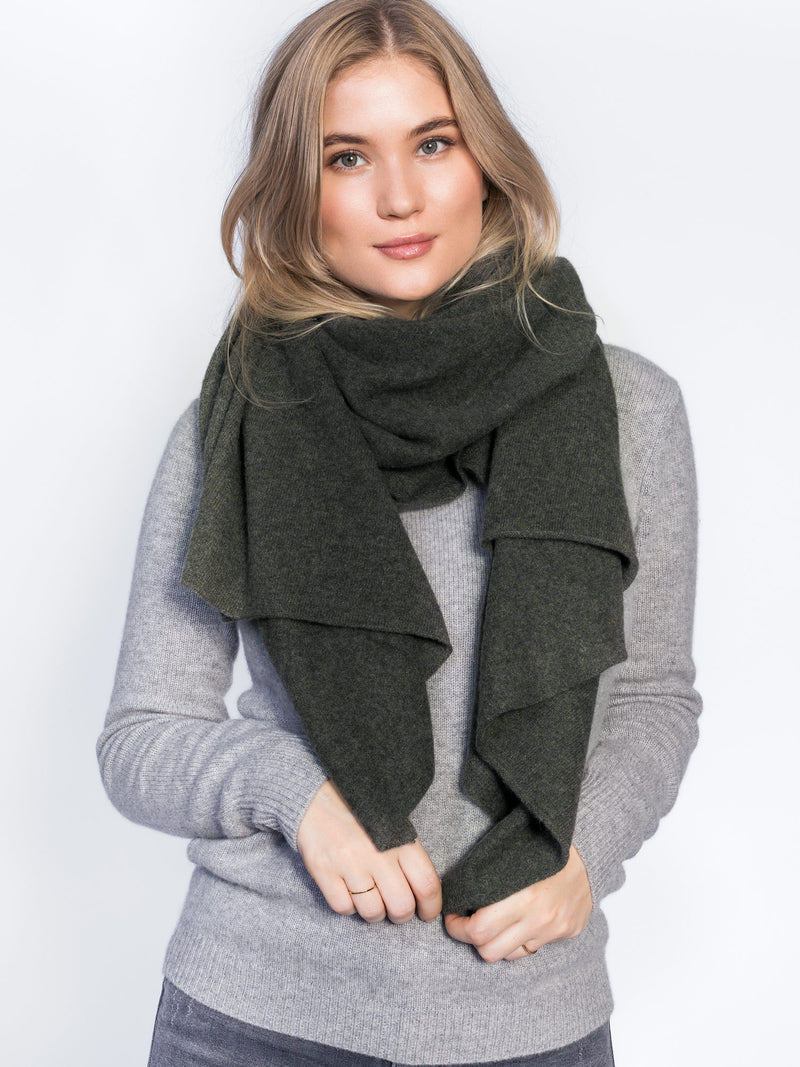 "Cashmere scarf ""Signature"" in 100% cashmere from Kashmina"
