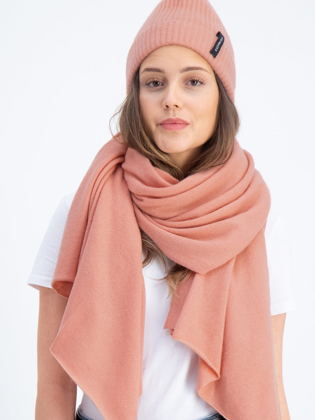 Cashmere scarf in 100% cashmere from Kashmina