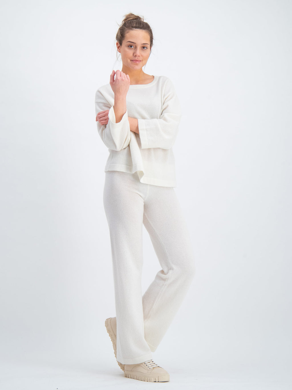 cashmere pants Fancy in 100% cashmere by Kashmina