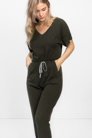 Cashmere jumpsuit in 100% cashmere by Kashmin