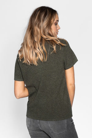 cashmere t-shirt in 100% cashmere by Kashmina