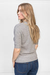 Short sleeved cashmere sweater from Kashmina 100% cashmere