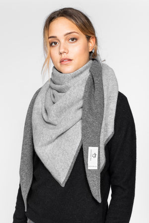 Cashmere scarf Triangle from Kashmina